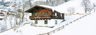 Chalets and cottages for winter holidays in Austria