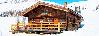 Chalets and cottages for winter holidays in Italy