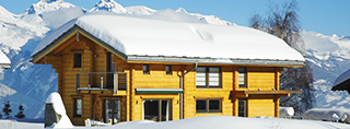Chalets and cottages for winter holidays in Switzerland