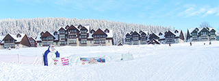 Holiday homes and ski chalets on piste in Czech Republic