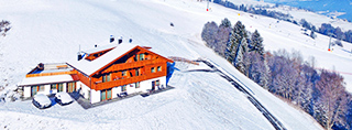 Holiday homes and ski chalets on piste in Italy