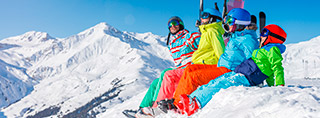 Ski holidays for families with children